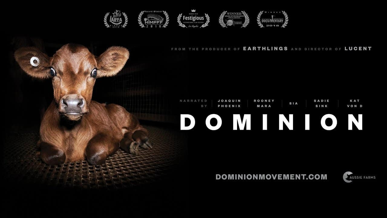 Dominion Food Revolution Documentary Movie Film Cover